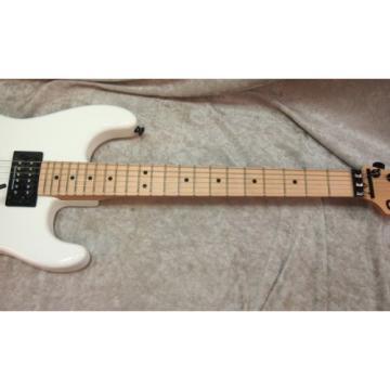 Charvel SD-1 San Dimas HH Floyd Rose electric guitar in snow white (#2)