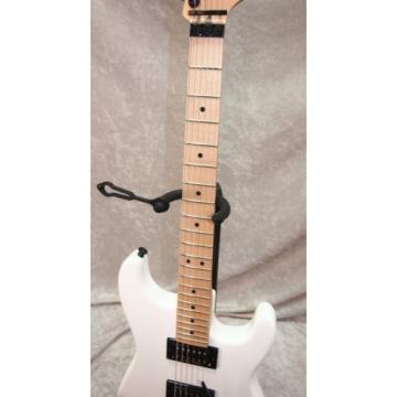 Charvel SD-1 San Dimas HH Floyd Rose electric guitar in snow white (#2)