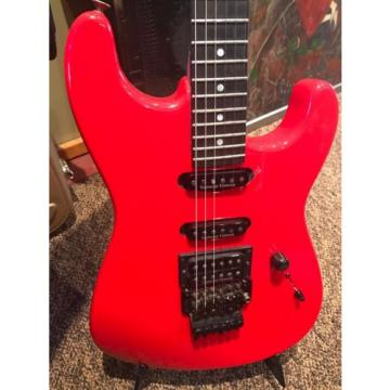 Charvel Custom Shop San Dimas RE-ISSUE- FERRARI RED. MINT !!!!!!!!
