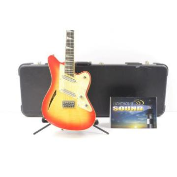 1990's Charvel Surfcaster 12 String Electric Guitar - Sunburst w/Case Lipstick