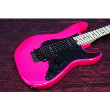 Charvel Pro-Mod So-Cal Style 1 HH Floyd Rose - Neon Pink 031409