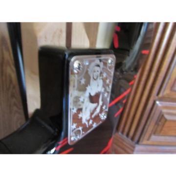 Charvel Blood Skull Guitar w/ Reverese Headstock