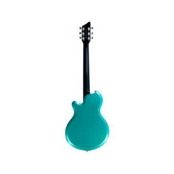 DEMO Supro Westbury Turquoise Metallic Electric Guitar