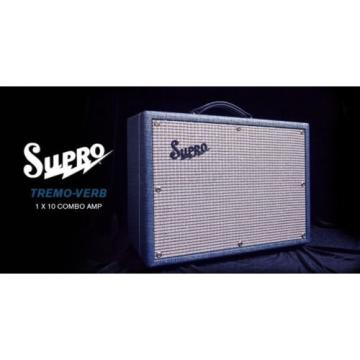 "SUPRO Tremo-verb S1622RT Electric Guitar 25 watt Class A 1 x 10"" Tube Combo NEW"
