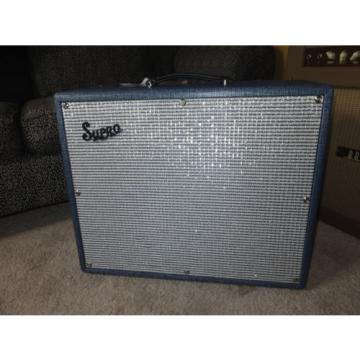 Supro Thunderbolt 1x15 combo. Raunchy gain and tone. Love it!