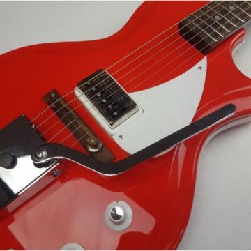 Supro Belmont Vibrato Americana Electric Guitar - Poppy Red