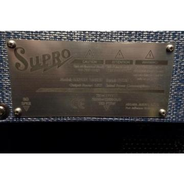 "Supro USA 1648RT Saturn Reverb 15 Watt 1x12"" Guitar Combo Amplifier Demo #135*"