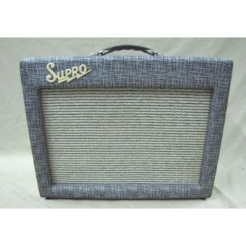 1961 Supro 1624T Amplifier  Nice !