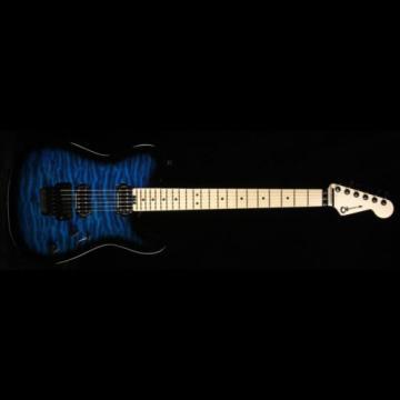 Charvel Pro Mod Series San Dimas Style 2 2H FR QM Electric Guitar Blue Burst