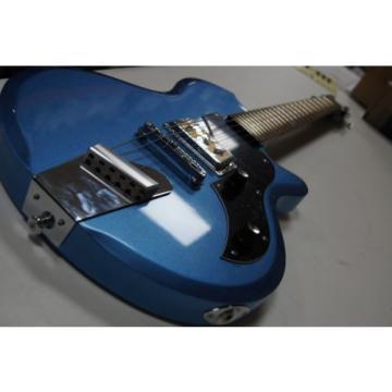 Supro 2010BM Jamesport Electric Guitar ~ Ocean Blue Metallic
