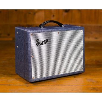 Supro 1642RT Titan 1 x 10 Tube Valve Amp with Reverb & Tremolo - AU 240V 50 Watt