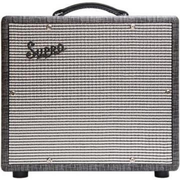"""Supro 1600 Supreme - 25W 1x10"""" Guitar Combo Amplifier Black Rhino Tolex - NEW"""