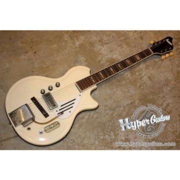 SUPRO 65 WHITE HOLIDAY Used  w/ Hard case