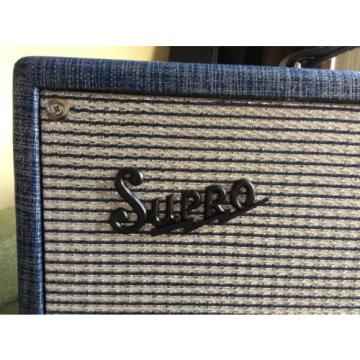 Supro Dual Tone Guitar Amp - Mint Condition