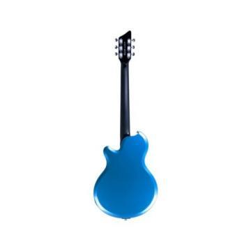 DEMO Supro Hampton Ocean Blue Metallic Electric Guitar