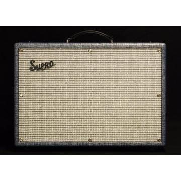 "NEW! Supro Coronado 1690T 35-Watt 2 x10"" Guitar Tube Combo Amp Amplifier"