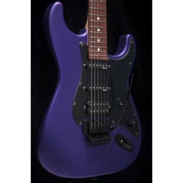 Charvel USA Select So-Cal HSS Electric Guitar Satin Plum Purple w/ hard case