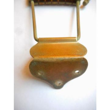 """NATIONAL, SUPRO, PREMIER, ARCHTOP TRAPEZE GUITAR TAILPIECE, 1950'S, """"AS IS"""""""