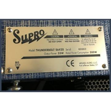 Supro S6420 Thunderbolt Röhrencombo 1x 15''