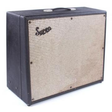 "SUPRO THUNDERBOLT S6420 Electric Guitar 35 watt Class A 1 x 15"" Tube Combo REP"