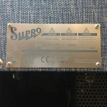 Supro Saturn Reverb 1648RT 1x12 Combo Guitar Amplifier (Make Offer!)