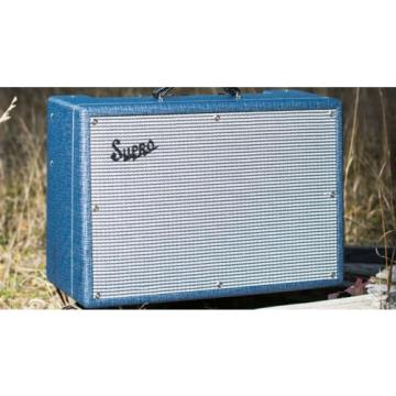 "SUPRO Tremo-verb S1622RT Electric Guitar 25 watt Class A 1 x 10"" Tube Combo REP"