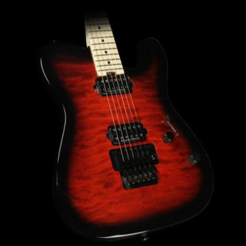 Charvel Pro Mod Series San Dimas Style 2 2H FR QM Electric Guitar Red Burst