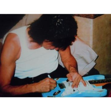 Jeff Beck Yardbirds Led Zeppelin Played Signed Autographed Charvel Relic Guitar