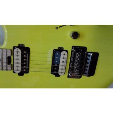 Charvel Pro Model SD1 2H FR Neon Yellow Bundle