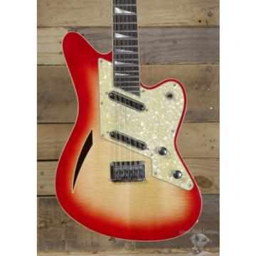 Charvel Surfcaster 12 string Electric Guitar Star-glo w/ Case