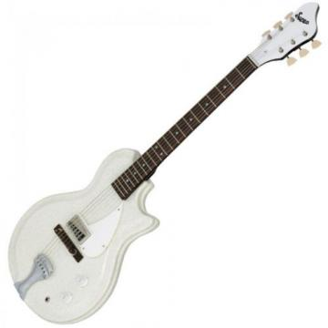 Supro Belmont Electric Guitar ~ Sparkle White ~ 1572SW ~ NEW
