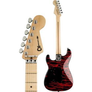 Charvel Warren DeMartini Signature Blood And Skull Pro Mod E-Guitar