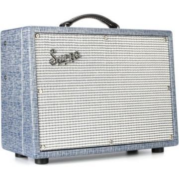 NEW SUPRO TREMO-VERB REVERB 25W GUITAR COMBO AMPLIFIER RETRO TUBE AMP EFFECTS
