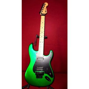 Charvel So Cal USA - MADE IN THE USA  Unique Sparkle Green  Amazing W/ soft case