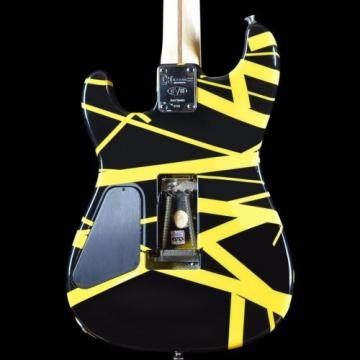 2008 Charvel EVH Art Series Guitar Black & Yellow Eddie Van Halen Hand Painted