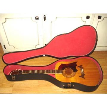 "VINTAGE ""SUPRO"" COUNTRY WESTERN ACOUSTIC GUITAR/CASE (Mr Zee's Music Shoppe-"