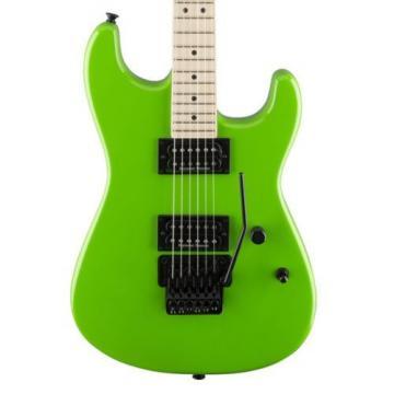 Charvel Pro Mod San Dimas HH Style 1, Slime Green, Floyd Rose +Picks