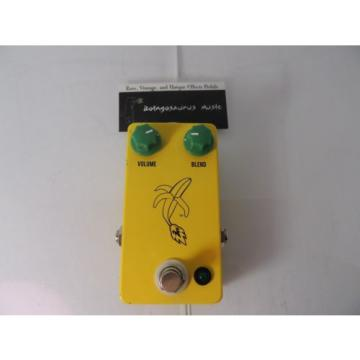 JHS BANANA BOOST BOOSTER EFFECTS PEDAL  FREE USA SHIPPING