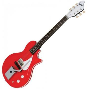 Supro Belmont Vibrato Electric Guitar ~ Poppy Red ~ 1572VPR ~ NEW