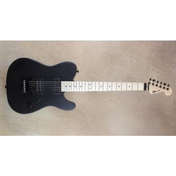 Charvel USA Select San Dimas 2H Style 2 Tele Satin Black Guitar