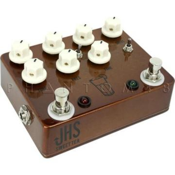 JHS Pedals Sweet Tea Medium-Hi Gain Overdrive/Distortion Guitar Effects Pedal