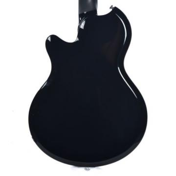 Supro Westbury 2020JB Electric Guitar Jet Black solid Dbl PU