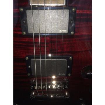 Charvel Desolation DC-1 ST Refurbished Electric Guitar - Trans Red Flametop