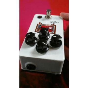 JHS Angry Charlie Brown Hand Painted distortion pedal