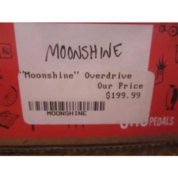 JHS Moonshine Overdrive OD Distortion Guitar Effect Pedal