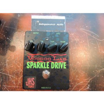 VOODOO LABS SPARKLE DRIVE OVERDRIVE EFFECTS PEDAL w/THE JHS STRONG MOD MODIFIED