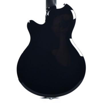 Supro Hampton 2030JB Electric Guitar Jet Black solid triple PU