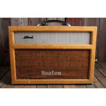 National Stage Star 1280T by Valco Vintage 1950s Electric Guitar Tube Amplifier