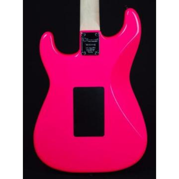 New! Charvel PM SC1 Pro Mod So Cal HH Guitar w/ Floyd Rose - Neon Pink