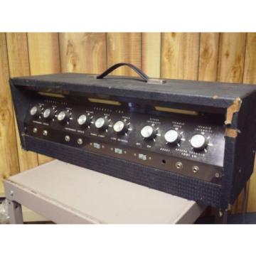 Vintage 60's VALCO airline Supro National wards RARE 100 WATT HEAD TUBE AMP